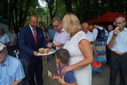 Nasze Panie zKGW na XI Powiatowym Święcie Chleba wPrzeworsku.
